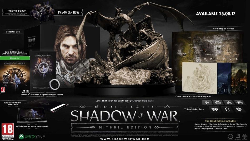 Shadow of War Mithril