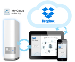 Network Attached Storage WD My Cloud WDBCTL0080HWT, 8TB